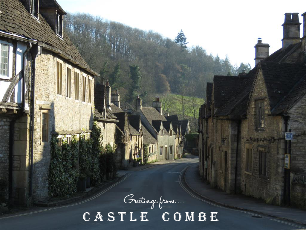 Visiting Castle Combe, Wiltshire