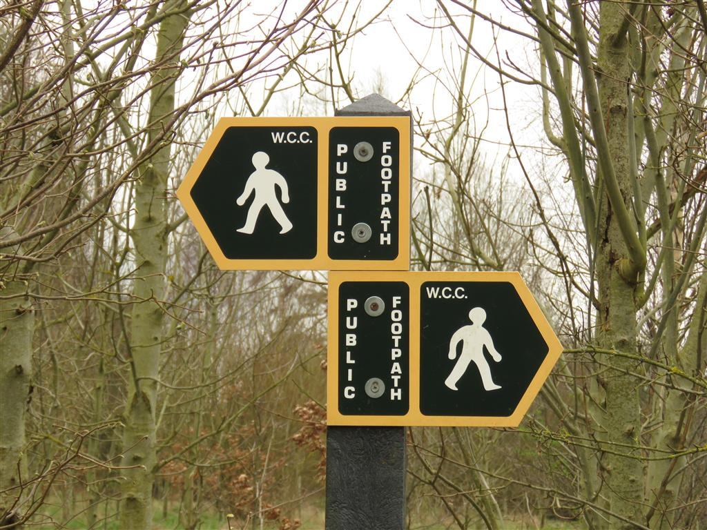Public Walking Trail, Cotswold Water Park