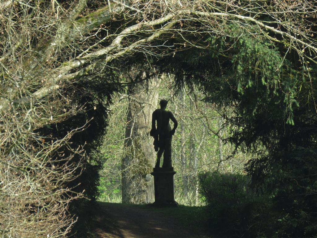 Statue of Apollo, Rousham Gardens, Oxfordshire, England