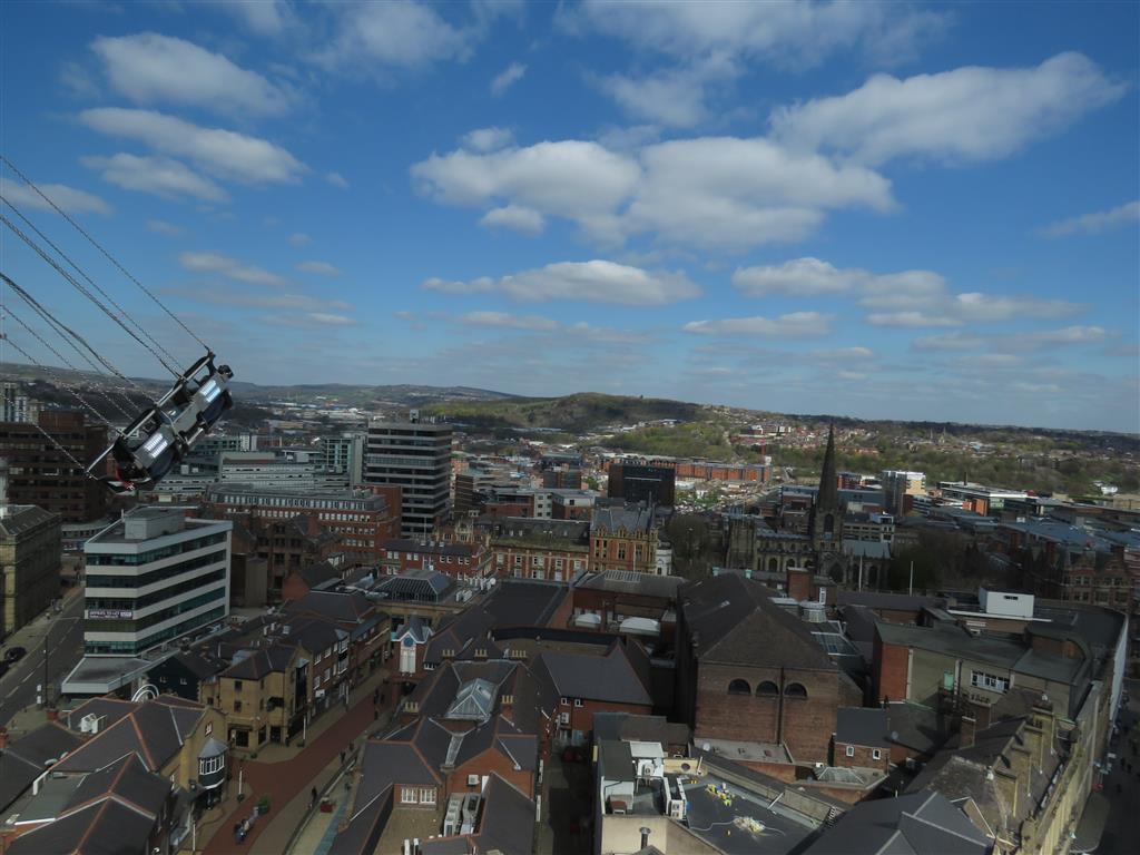 View from the Sheffield Starflyer