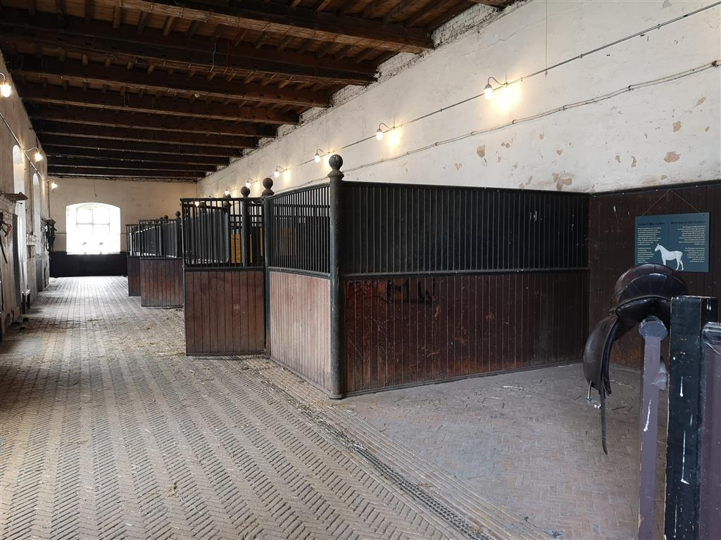 Stable at Tredegar House, Wales