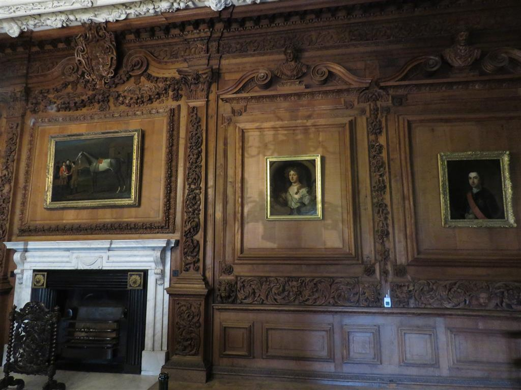 The Brown Room at Tredegar House, Wales