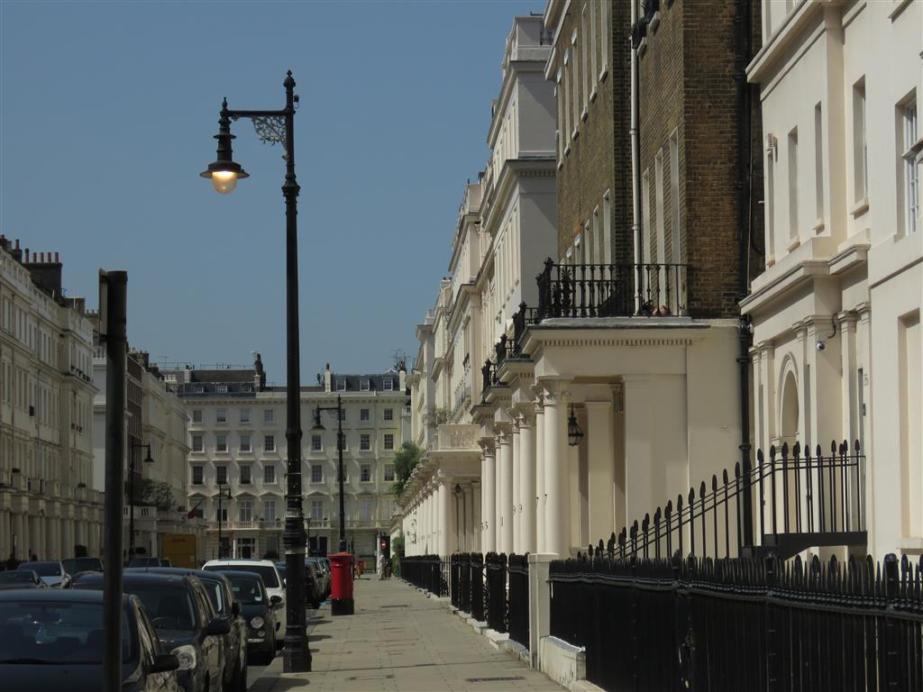 The architecture of London