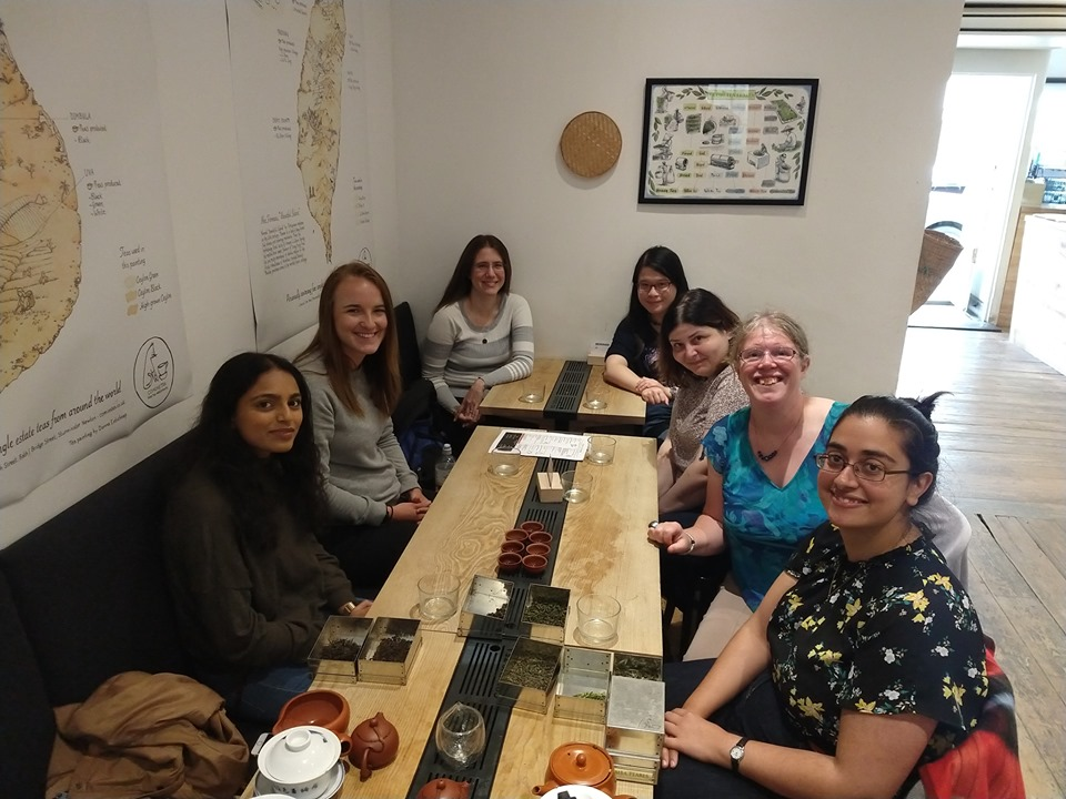 Tea Tasting at Comins Tea, September 2019