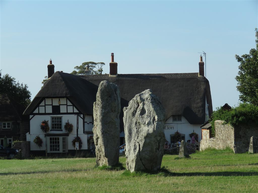Visiting Avebury stone circle