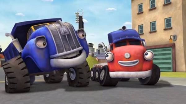 Трактаун — Сокровища грузовичков — Новый мультик про ...