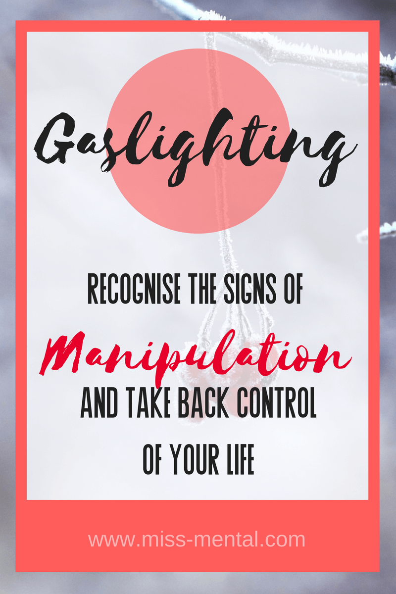 gaslighting a form of manipulation read if you are being gaslighted and how to take your life back. Get out of your abuse relationship/ marriage with the help of a therapist. You deserve better. You can learn to give yourself the love you need and start a new life without the abuser. You are not crazy, it's just what the narcissist wants you to believe. focus on your mental health and choose you.#abuse #manipulation #mentalhealth #narcissist