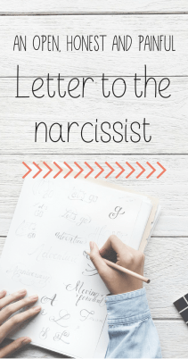 An open, honest and painful letter to the narcissist. I'm sharing my pain in this letter my therapist suggest to write. I never send it cause I don't want this abusing sociopath in my life,but I'm sharing it with you in the hope it can help someone. #narcissist #abuse #selfgrowth #writing #story #letter #sociopath