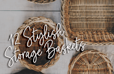 12 stylish storage baskets ideas for your home + $200 Kohls giveaway | Storage bins are great for organizing but also work for home decoration | Different styles for every home | Farm decor | Modern decor | Home inspiration | Weaved baskets | linnen baskets | household essentials for your family | Black friday | #kohls #storage #baskets #style #homedecor #musthaves