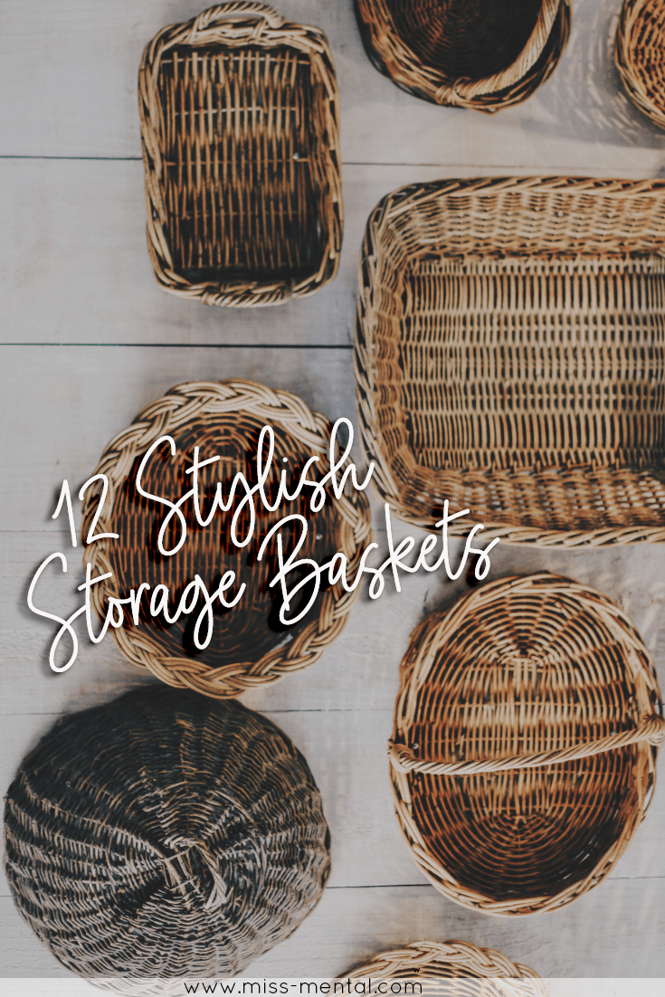 12 stylish storage baskets ideas for your home + $200 Kohls giveaway | Storage bins are great for organizing but also work for home decoration | Different styles for every home | Farm decor | Modern decor | Home inspiration | Weaved baskets | linen baskets | household essentials for your family | Black Friday | #kohls #storage #baskets #style #homedecor #musthaves