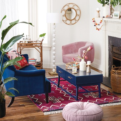 blue & blush inspiration at Target shop your home decor now and be ready for the winter season