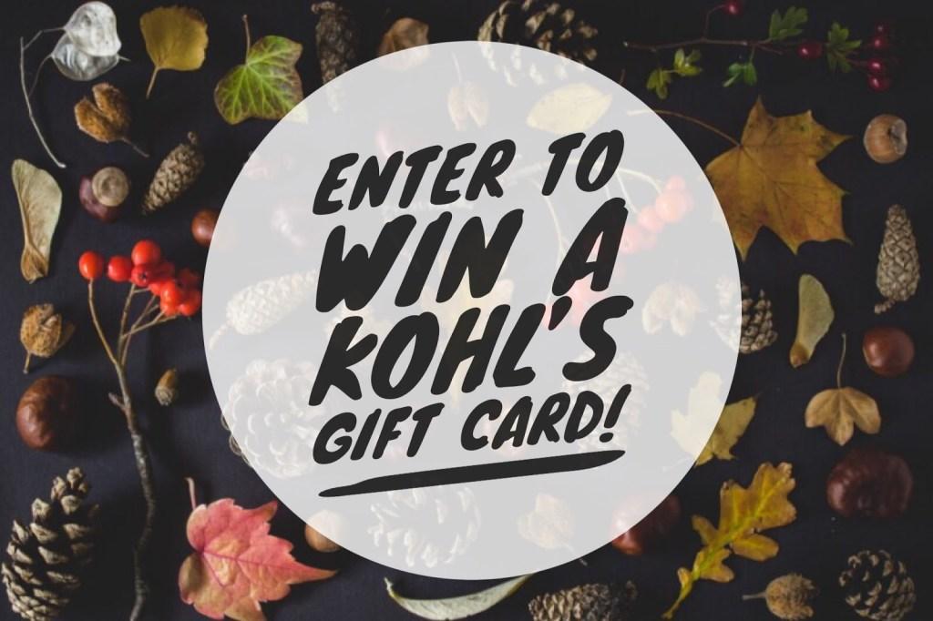 Kohls giftcard giveaway
