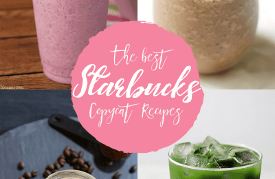 The 20 best starbucks copycat recipes that are just as good as the starbucks menu | 10 drinks and Starbucks recipes you can make from home with your family. Enjoy a day in the kitchen with your children and bake these amazing recipes while enjoying a copycat starbucks drink. #recipes #giveaway #starbucks #baking #coffee #tea
