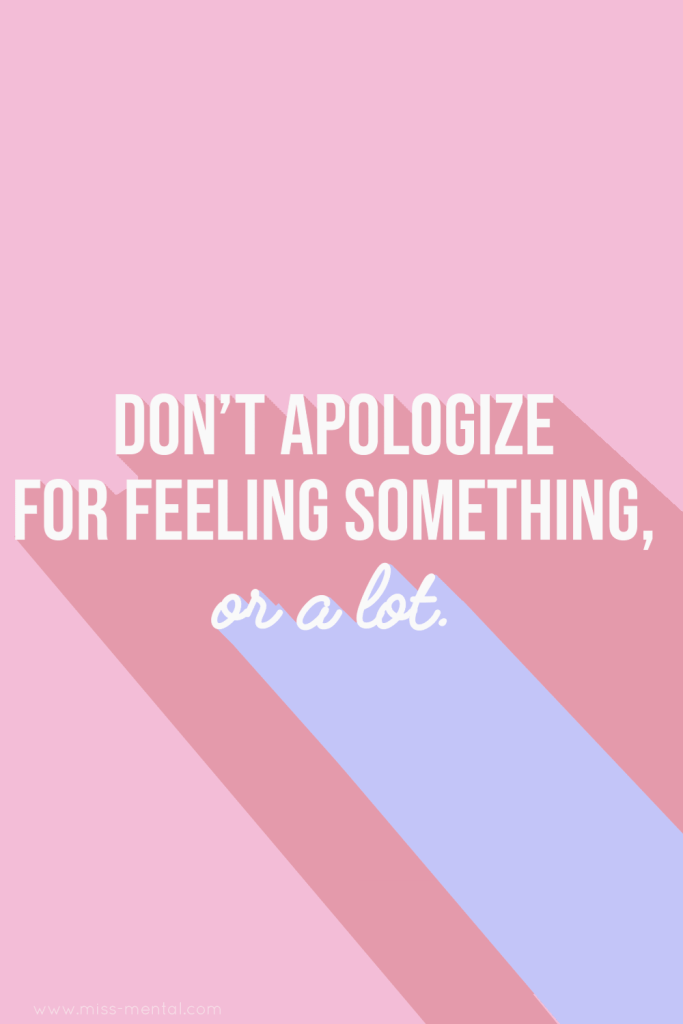 Don't apologize for feeling something EVER!🙌❤️ ⠀⠀⠀⠀⠀⠀⠀⠀⠀ Your feelings are allowed to be here, YOU ARE ALLOWED TO BE HERE.💕🙏 ⠀⠀⠀⠀⠀⠀⠀⠀⠀ Don't dim your light cause other's don't want you to shine, Cry if you need to cry. Your feelings are a part of you and you never have to apologize for them. 🙏 #positivevibes #quote #motivation