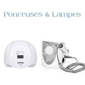 Ponceuses et lampes