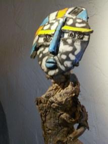 Madame GNARLED avec Allain (la tête)
