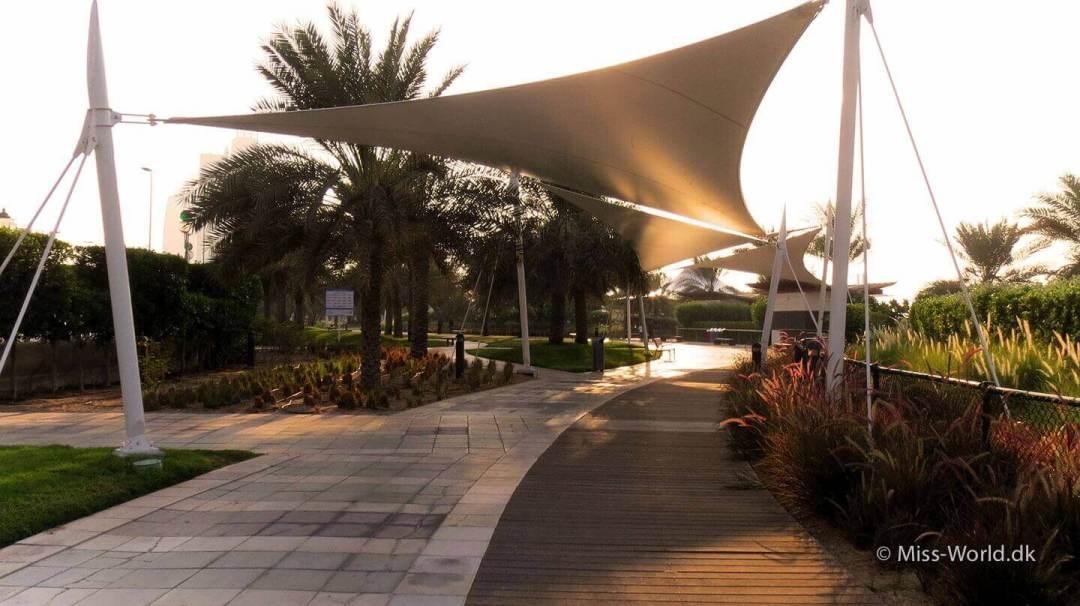 Abu Dhabi Beach The Corniche Bike Road