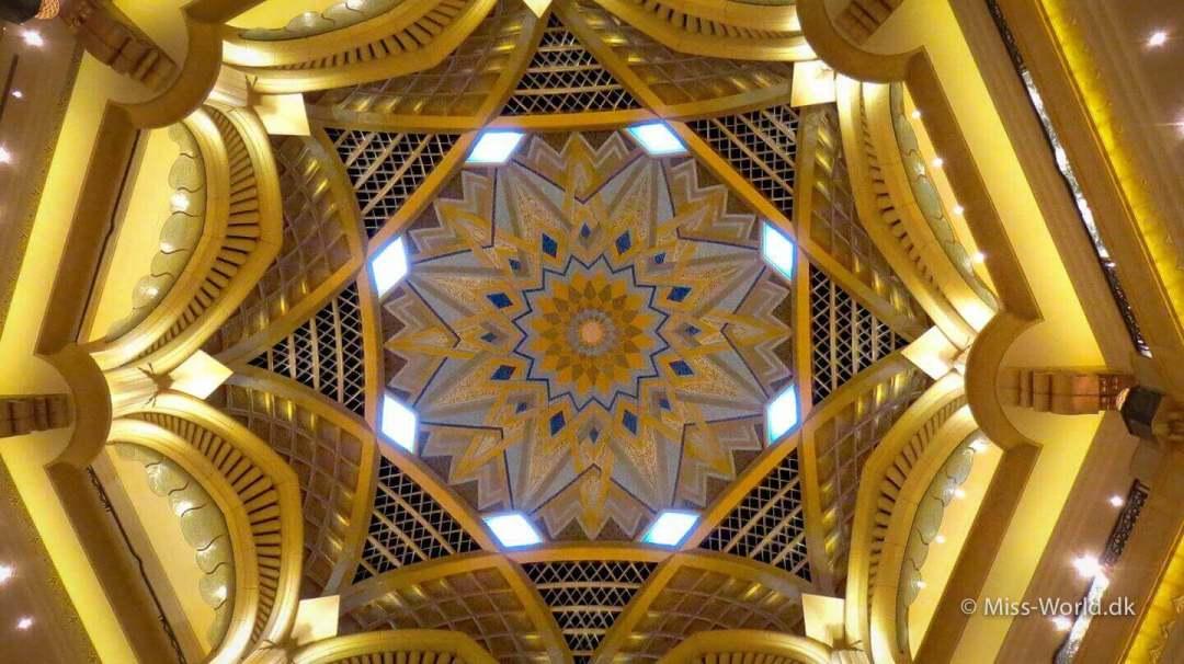 Emirates Palace Hotel Abu Dhabi - Golden Ceiling