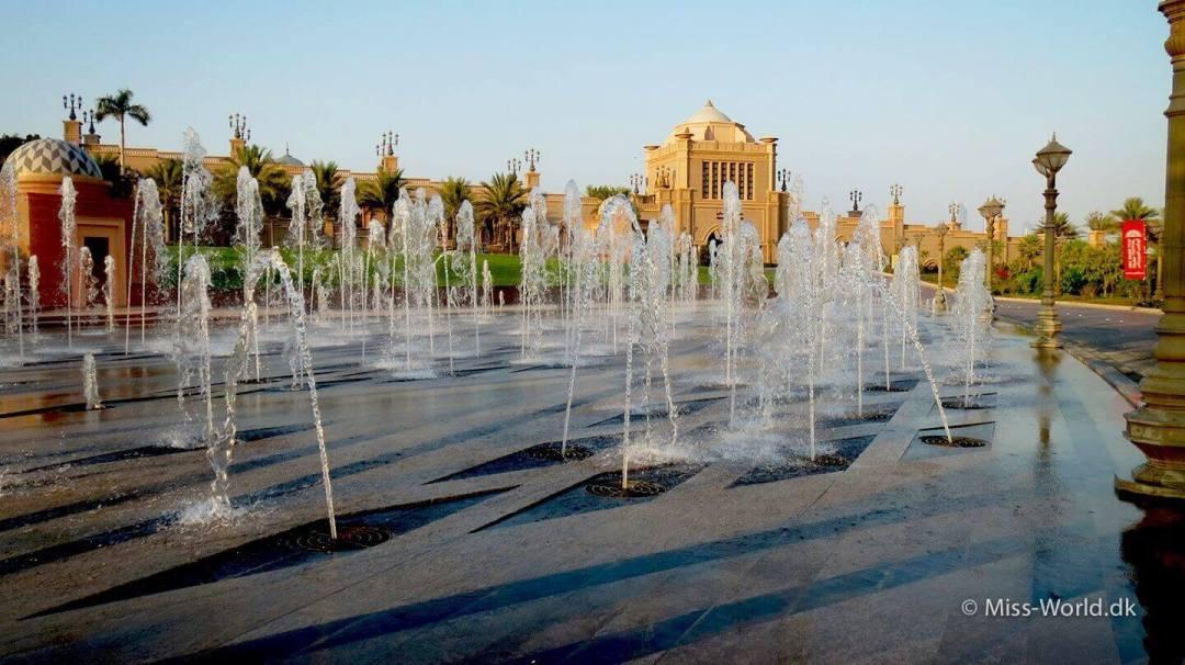 Emirates Palace Hotel Abu Dhabi - Fountains