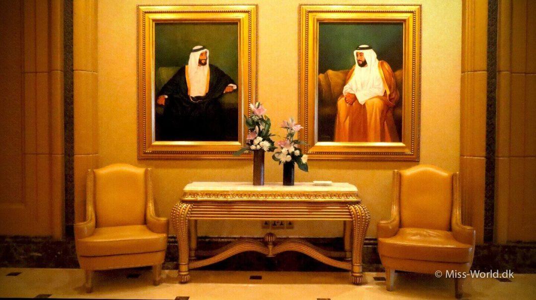Paintings, Emirates Palace Hotel Abu Dhabi