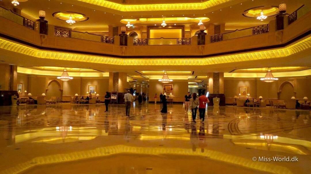 Emirates Palace Hotel Abu Dhabi - Lobby
