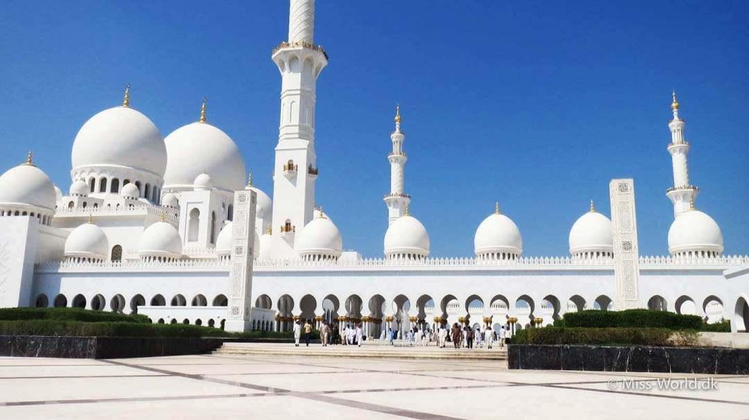 Sheikh Zayed Mosque Abu Dhabi - Friday Prayer