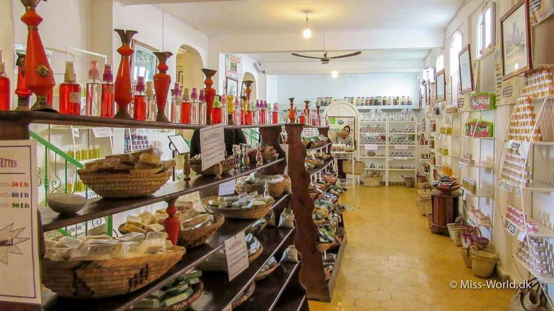 Argan oile butik Marokko