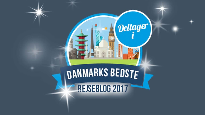 Deltager i Danmarks bedste rejseblog 2017