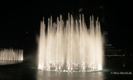 Dubai Fountain, Verdens største dansende springvand