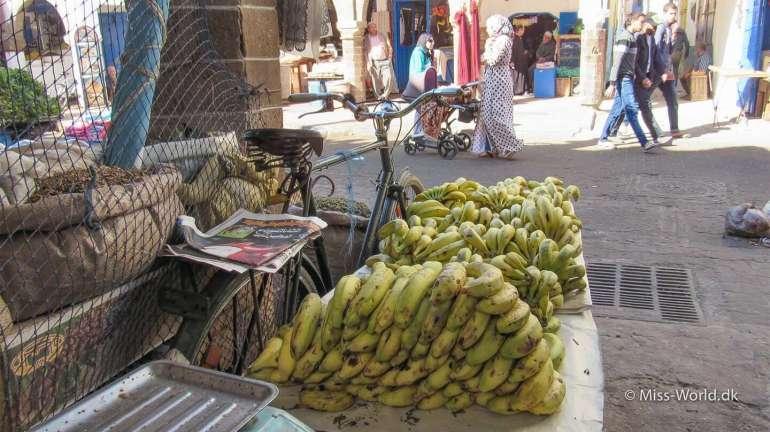 Essaouira Medina Morocco - Bananas