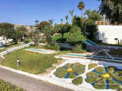 Hotel Agadir Morocco garden