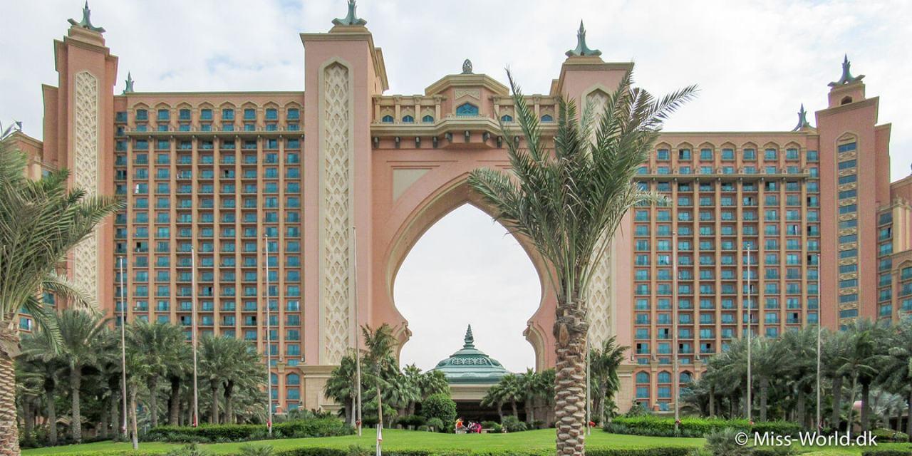 Hotel Atlantis, The Palm Jumeirah, Dubai