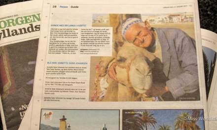 Jyllandsposten Rejser.. Miss-World har været i avisen