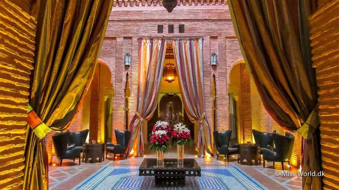 Luksus hotel i Marrakech