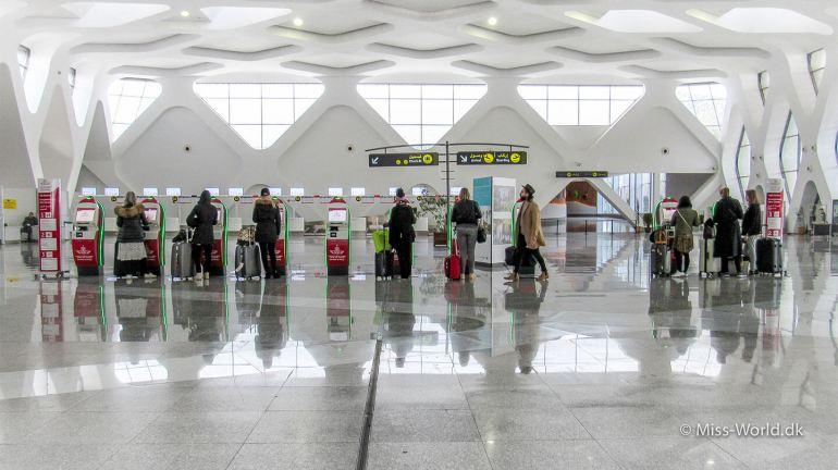 Marrakech Airport Morocco
