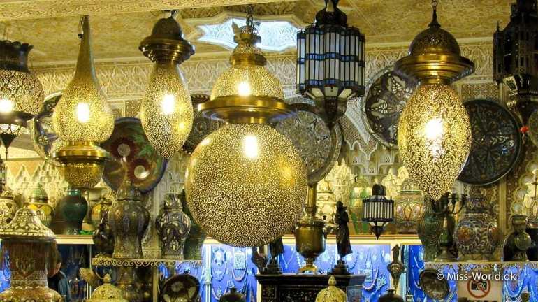 Marrakech Marokkanske Lamper