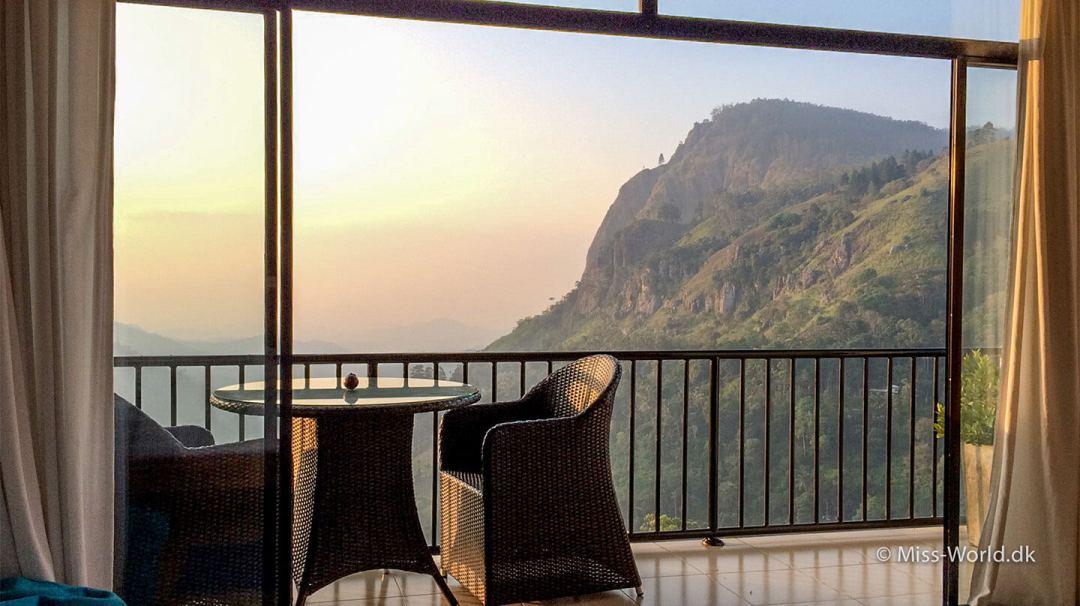 A room with a view - Mountain Heavens Ella Sri Lanka