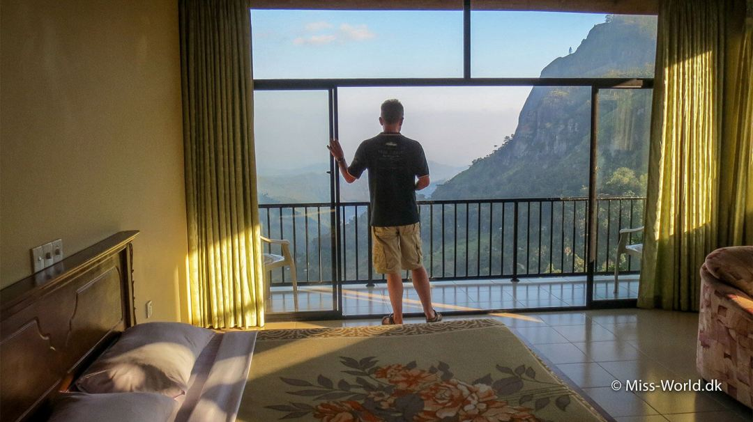 Udsigten fra værelset på Mountain Heavens i Ella