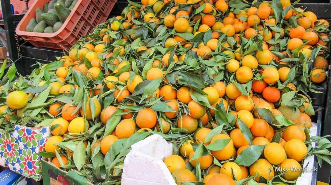Oranges Medina Marrakech Morocco