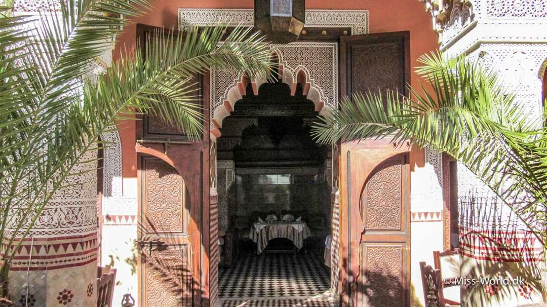 Ksar El Hamra Restaurant i Marrakech