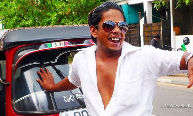 En tuk tuk, tak! Tuk tuk i Sri Lanka