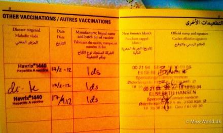 Vaccinationer til Sri Lanka
