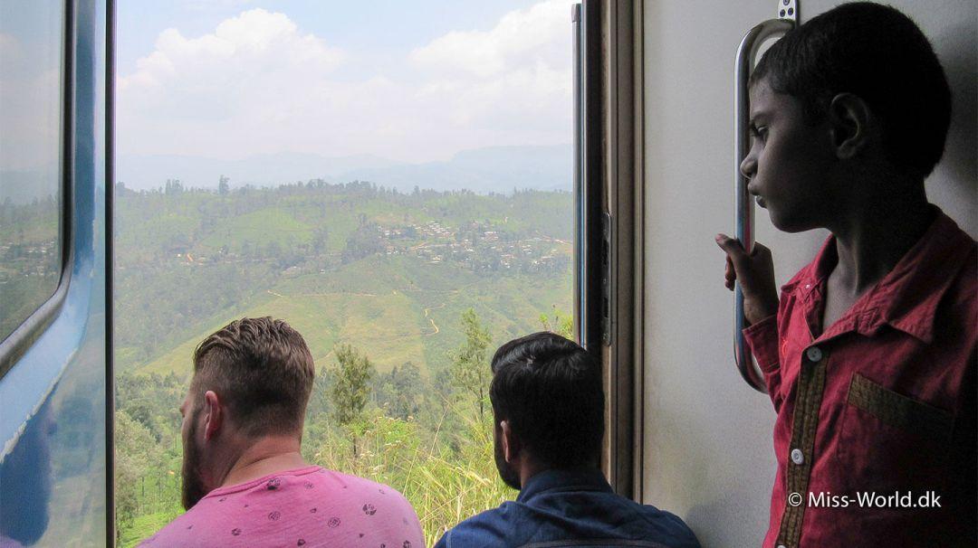 Transport med tog i Sri Lanka