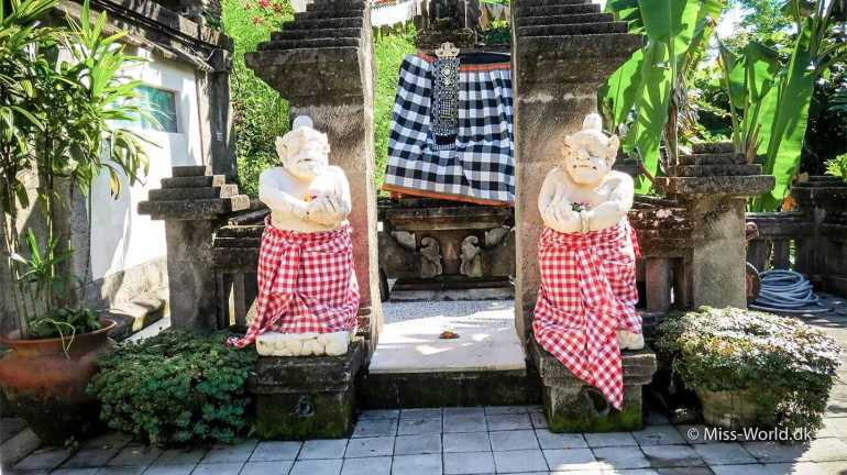 Viceroy Bali Hotel in Ubud, has its own temple
