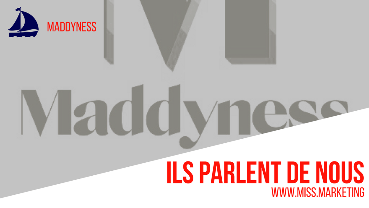 Miss Marketing sur le Web - Ils en parlent - Maddynness