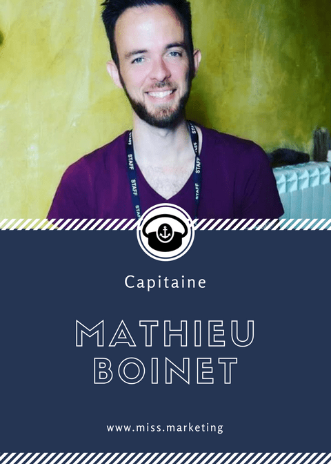 Mathieu Boinet - Portrait de Capitaine - Rubrique Miss Marketing