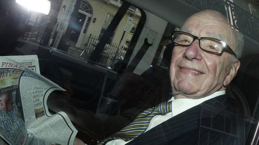 Rupert Murdoch unterwegs in London