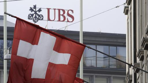 UBS-Bankfiliale in Zürich