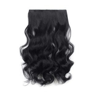 One Piece Curly Clip In Hair Extensions