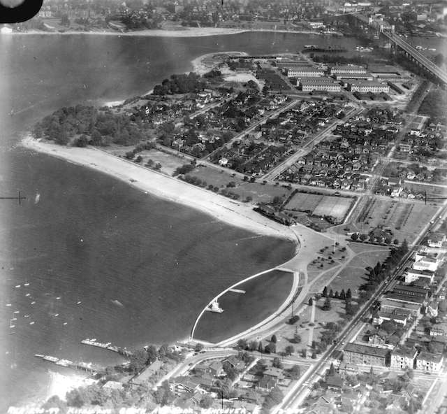 Kits Pool Aerial 1945 Royal Canadian Air Force. Archives# AM54-S4-: Air P28